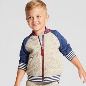 Genuine kids Oshkosh boys bomber jacket 4 T